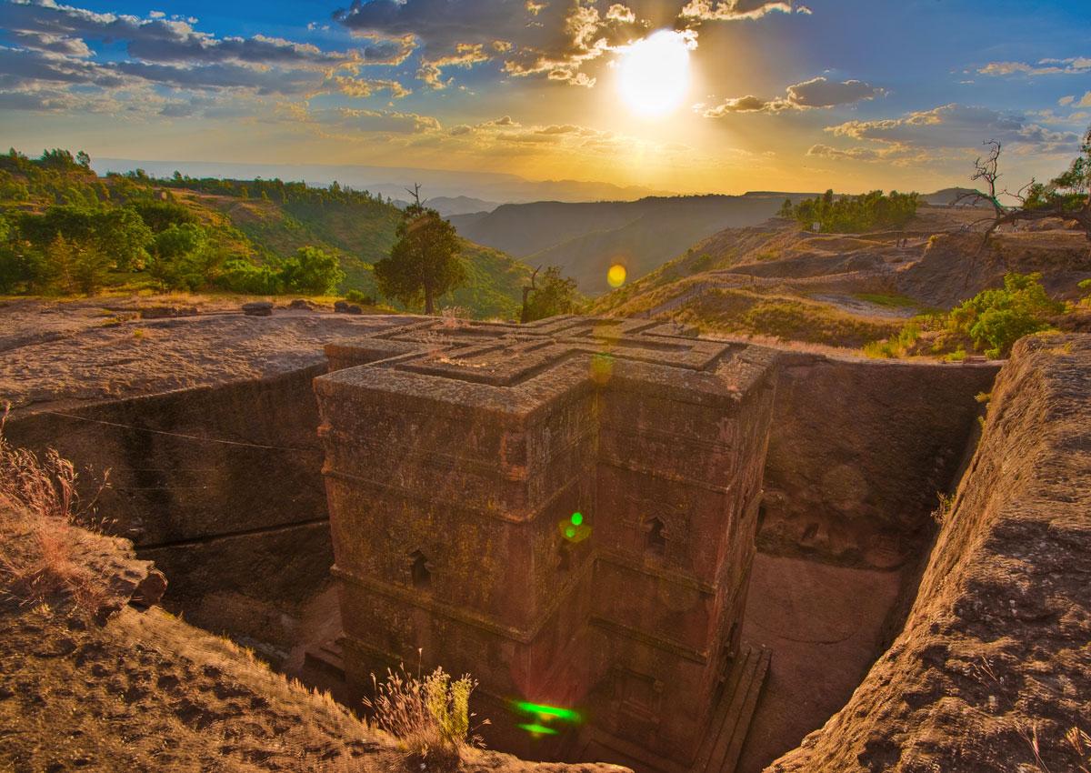 Znalezione obrazy dla zapytania etiopia  Lalibela
