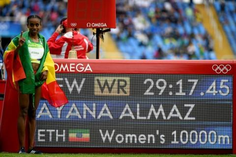 Almaz Ayana broke the world record which was hold for more than 23 years!