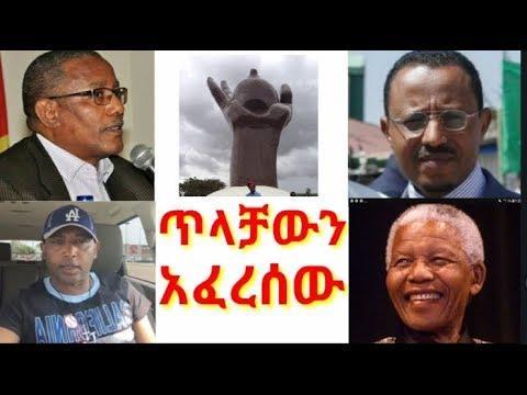Mesfin Feyisa ~ Lemma Megersa በወያኔ የተሰራውን የጥላቻ ድልድይ ሰባብሮ የልዑካን ቡድኑን ይዞ መጉዋዙ የዘመናችን ማንዴላ ብዬዋለው ይላል